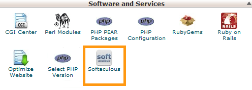 cPanel Softaculous One Click Apps