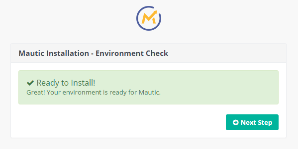 Mautic Ready to Install