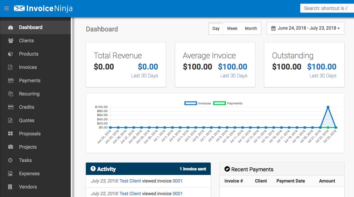 Invoice Ninja Deployment On Docker Autoize - Invoice ninja