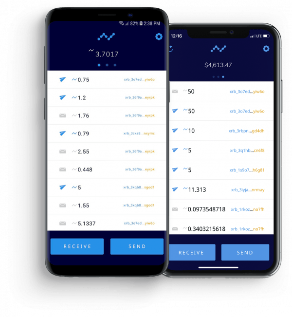 Official Nano wallet