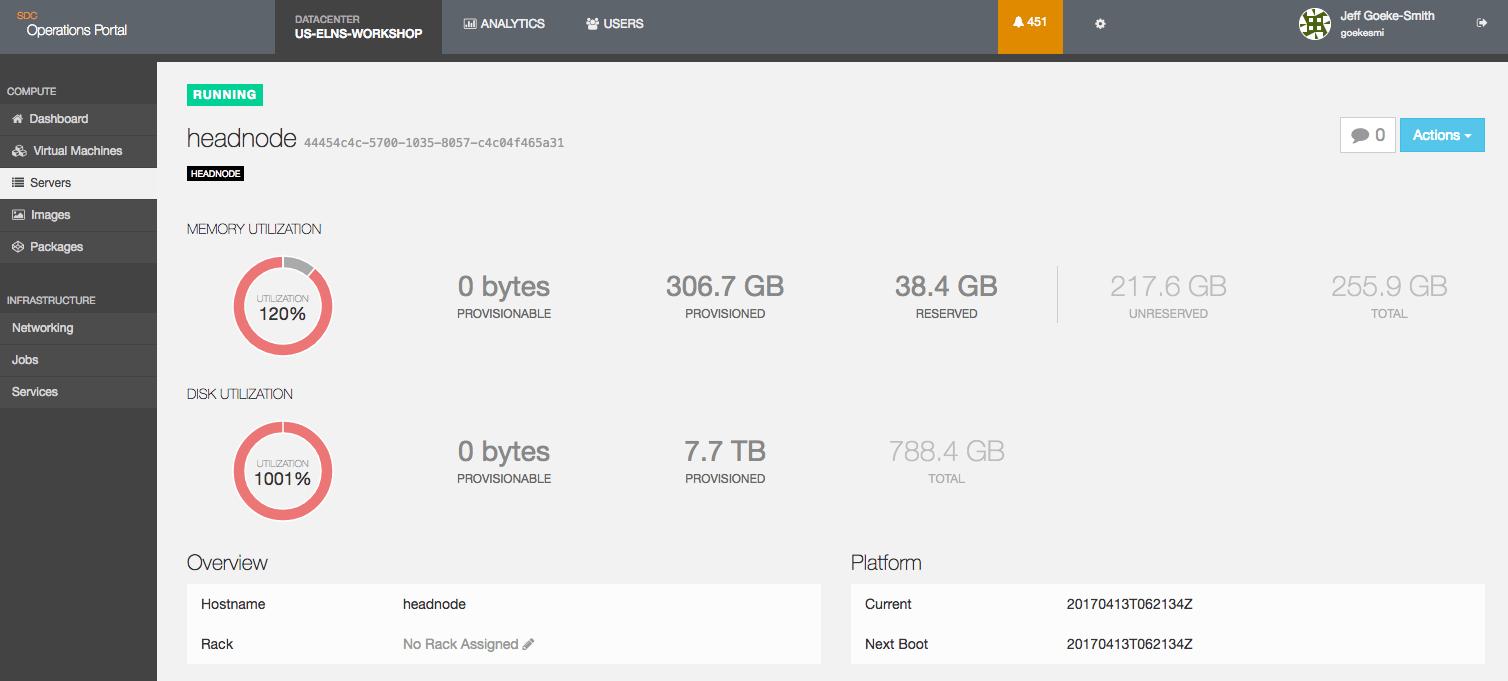 Triton Datacenter Screenshot