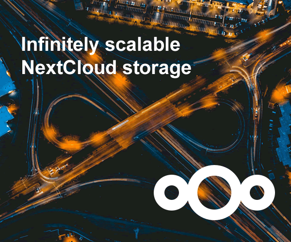 Infinitely Scalable NextCloud Storage