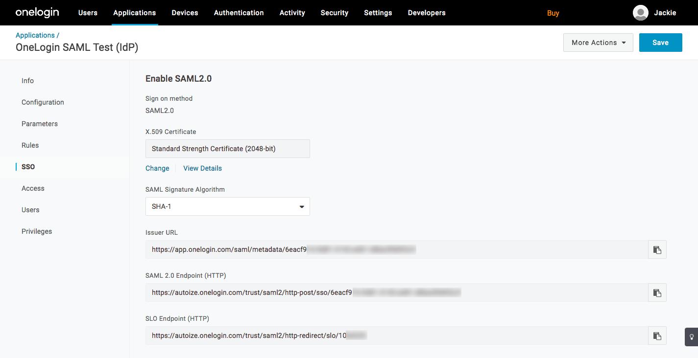 OneLogin NextCloud Integration - SSO