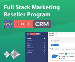 Mautic & SuiteCRM Reseller Program