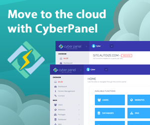 CyberPanel Hosting Panel